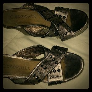 Coconuts silver wedges